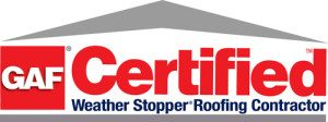 Defrehn Roofing GAF Certification
